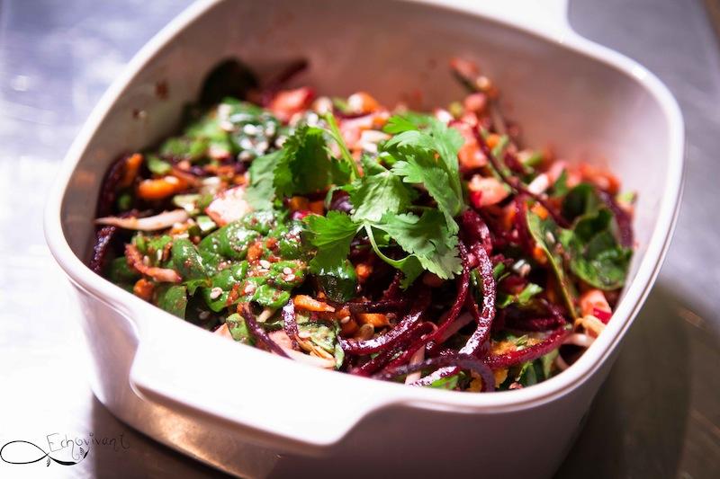 Salade à l'asiatique