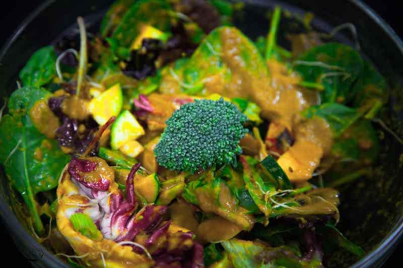 Salade de la terre